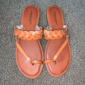 American Eagle Slip-on Sandals